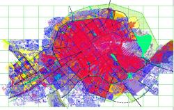نقشه طرح جامع شهر کرمان
